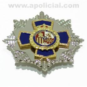 Placa Dedicación Policial XXXV