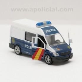 Furgoneta Policía Nacional metálico