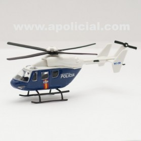 Helicóptero metálico Policía Nacional