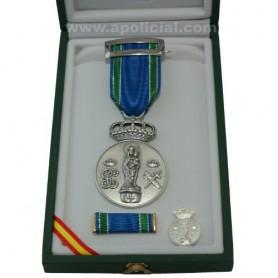 Medalla Centenario Virgen del Pilar 10 micras plata