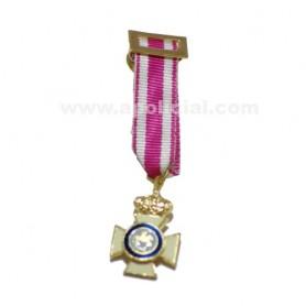 Medalla miniatura Cruz San Hermenegildo