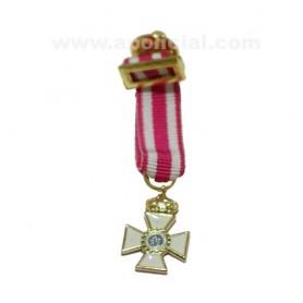 Medalla miniatura Encomienda San Hermenegildo