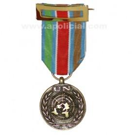 Medalla ONU Unprofor metal