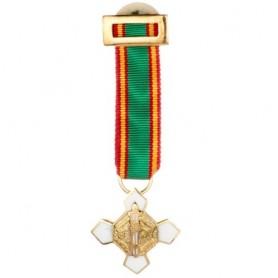 Medalla miniatura Mérito Policial