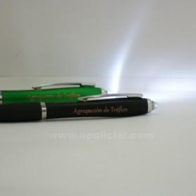 Bolígrafo puntero y linterna Tráfico