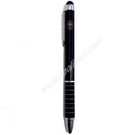Bolígrafo puntero metálico fino Tráfico