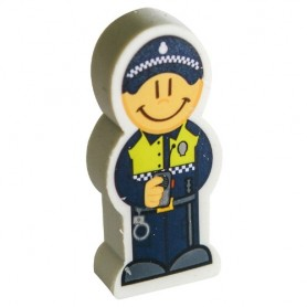 Lápiz portagoma Policía Local