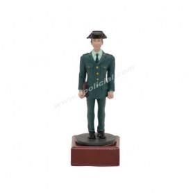 Figura plomo Guardia Civil traje paseo Tamaño 9 cm.