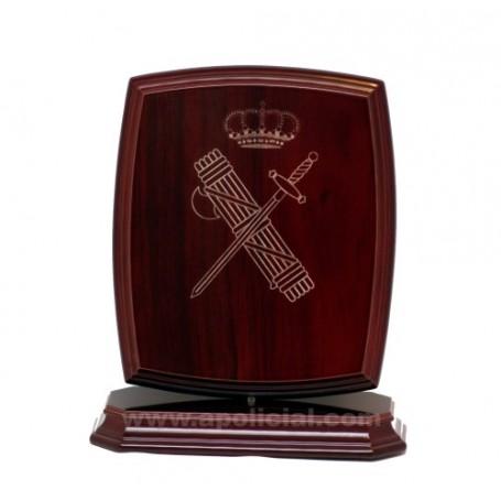 Figura madera Escudo Guardia Civil