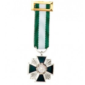 Medalla miniatura Mérito Guardia Civil Plata