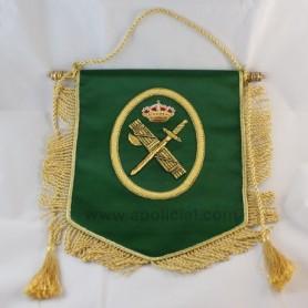 Banderín bordado Guardia Civil