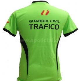 Camiseta Técnica Tráfico verde/negra