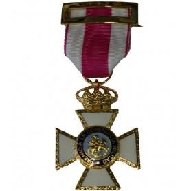 Medalla Cruz San Hermenegildo metal