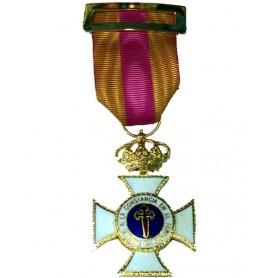 Medalla Constancia oro 30 años metal