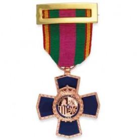Medalla Dedicación Policial XX años