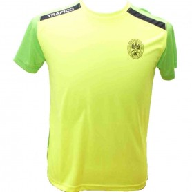 Camiseta Técnica fluor/verde Tráfico