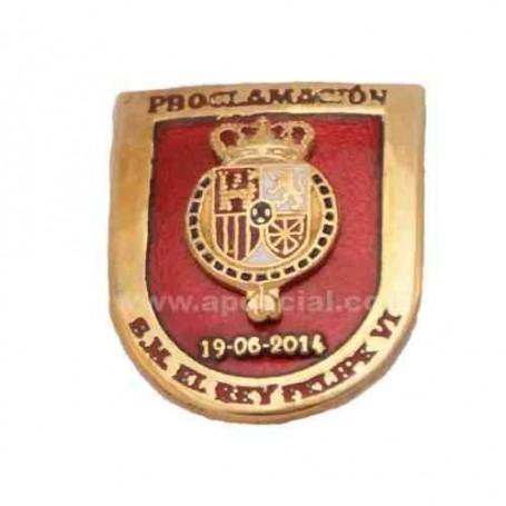 Distintivo Proclamación Felipe VI esmaltado
