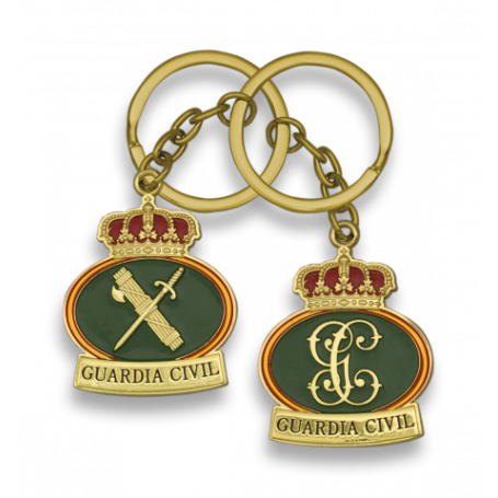 Llavero Guardia Civil dos cara
