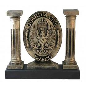 Figura columnas Emblema Tráfico