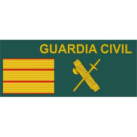 Galleta tela Sargento velcro