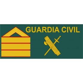 Galleta tela Sargento 1º velcro