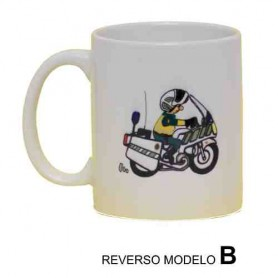 Taza cerámica Tráfico Motorista