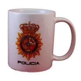 Taza cerámica Policía