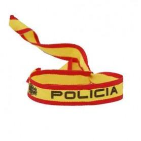 Pulsera bandera España Policía
