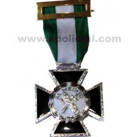 Medalla Cruz Mérito Guardia Civil metal