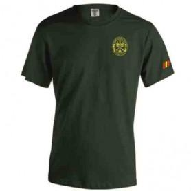 Camiseta algodón verde Tráfico