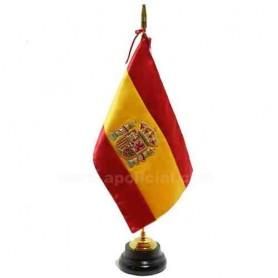 Bandera España sobremesa bordada