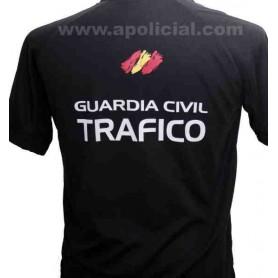 Camiseta Técnica Tráfico negra
