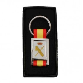 Llavero bandera emblema Guardia Civil
