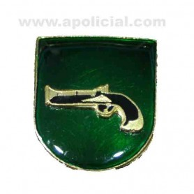 Distintivo Relieve Función Interveción de Armas