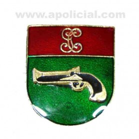 Distintivo Relieve Titulo Interveción de Armas