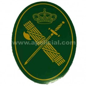 Pegatina pequeña emblema GC