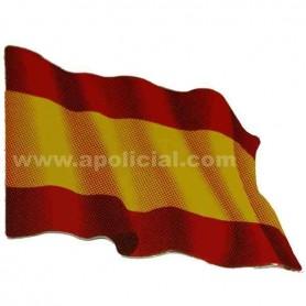 Pegatina pequeña bandera España