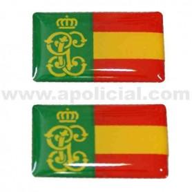 Pegatina volumen pequeño 2 GC/España