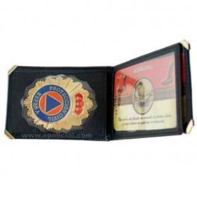 Cartera placa Protección Civil DB