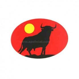 Pegatina pequeña ovalo Toro
