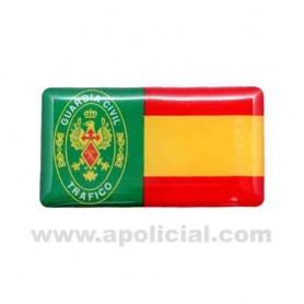 Pegatina volumen pequeño 1 Tráfico/España