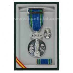 Medalla Centenario Virgen del Pilar 5 micras plata