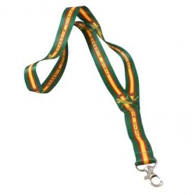 Cinta lanyard raso Guardia Civil