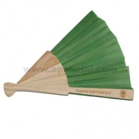 Abanico Tráfico madera