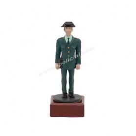 Figura plomo Guardia Civil traje paseo, tamaño 9 cm.