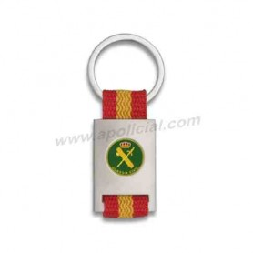 Llavero Guardia Civil pin bandera España