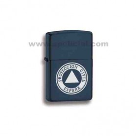 Encendedor gasolina Protección Civil tipo zippo