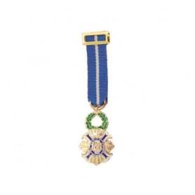 Medalla miniatura Cruz Mérito Civil