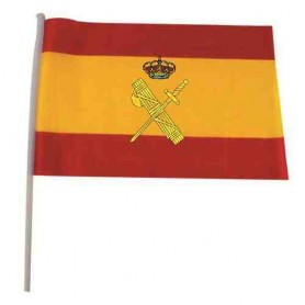 Bandera España Guardia Civil 21x15