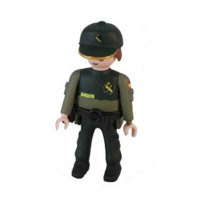 Muñeco articulado Guardia Civil